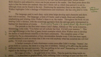 color purple essay the color purple alice walker essay two out of  the color purple alice walker essay two out of the color purple alice walker essay one