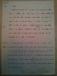An image of Chris Larham's ungraded French A Level translation exercise [2001/2002].