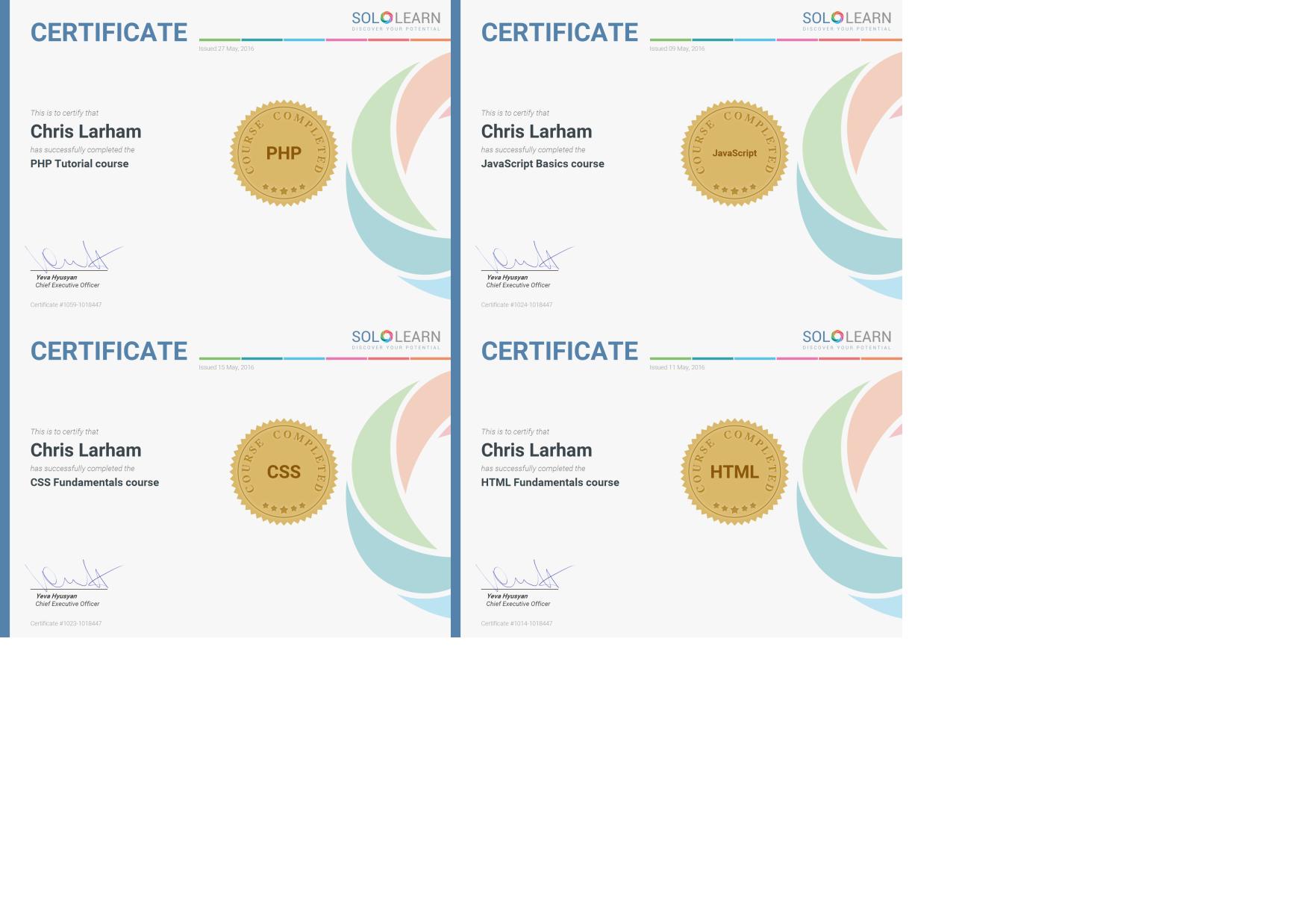 Sololearn certification 2016 sharedsapiencefo sololearn certification 2016 xflitez Images